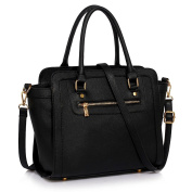 Womens Tote Handbags Ladies Celebrity Style Bags Medium Size Faux Leather Shoulder New