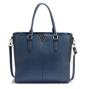 Gorgeous Navy Split Design Tote Handbag | FREE UK DELIVERY | Save 50%