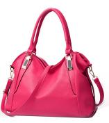 NUCLERL Women Handbag Female PU Leather Bags Handbags Ladies Shoulder Bag Office Ladies Hobos Bag Cross Body Bag