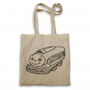 Train Waggon Black 04 Tote bag t771r