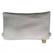 Women's Soft-Feel Leather Smartphone Leather Wristlet Crossbody Wallet Clutch with Crossbody strap