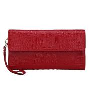 Women Wallet, Fashion Large Capacity PU Multi-slots Button Hand Wallet Purse Bag Card Holder Case