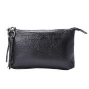 BIUBIUboom Women Leather Messenger Bags Tassel Handbags Casual Shoulder Bag