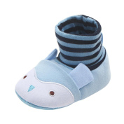 Girls Shoes, SHOBDW Baby Boys Lovely Cartoon First Walkers Round Toe Soft Flats Newborn Toddler Slippers