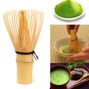 AsentechUK® 1pcs Japanese Ceremony Bamboo Matcha Powder Whisk Green Tea Chasen Brush Tool Bamboo Brush for Utensils