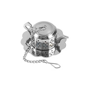 Merssavo Stainless Steel Loose Tea Leaf Infuser Ball Strainer Filter Herb Diffuse New x 1