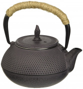Villa d 'Este Home Tivoli 2416303 Teapot, Cast Iron, Grey