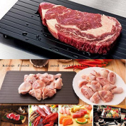 Sonicee Fast Defrosting Tray, The Safest Way to Defrost Meat or Frozen Food without Microwave Oven For Kitchen Use
