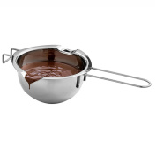 Milopon Melting Pot Bowl Stainless Steel Butter Chocolate cheese Melting Pot Heated Milk Bowl Baking Tools