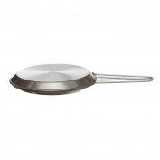 Mopita Die-Cast Double Pan for Omelette, Aluminium, Multi-Colour, 26 x 30 x 30 cm