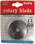 EZ Quilting 60 mm Dafa Rotary Cutter Replacement Blades