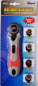 EZ Quilting Dafa Safeguard Sof Grip Rotary Cutter, 28mm