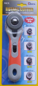 DAFA 60 mm Soft Grip Rotary Cutter, Multi-Colour