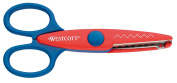 Westcott 13cm Craft Pinking Cut Scissor - Assorted Colours