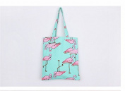 Kingken Fashion Flamingos Shoulder Bag Backpack Shopping Bag Travel Bag for Women