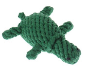 Kingken Funny Turtle Shaped Cotton Rope Chew Toy for Pet Dog Puppy