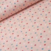 Dots Pastel Salmon 50 cm