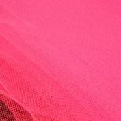 Flo Rose Pink Standard Dress Net Fabric