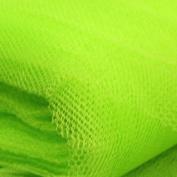 Flo Green Standard Dress Net Fabric