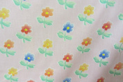 "Pansies Pink Cotton Anna French 140cm/54"" Designer Material Sewing Upholstery Curtain Craft Fabric (Metre)"