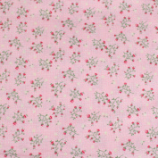 Pink Leading Brand 100% Cotton Fat Quarter FQ Quilting, Bunting, Craft Fabric FQ129C