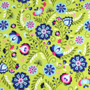 Floral Leading Brand 100% Cotton Fat Quarter FQ Quilting, Bunting, Craft Fabric FQ130A