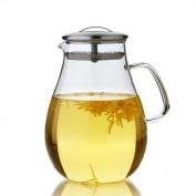 HZZymj-Heat-resistant flower pot large heat-resistant glass pot cold water bottle glass cold water bottle drop pot