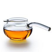 HZZymj-Long handle fair glass heat-resistant glass tea sea high temperature glass tea accessories long handle tea