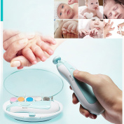 Gaddrt Baby Nail File Safe Electric Baby Nail Trimmer Nail Clippers Perfect Gift for Babies