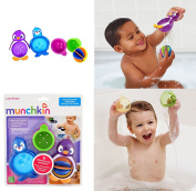 Baby Toddler Fun Bath Play Toy Activity Lazy Buoys Interactive Set Munchkin