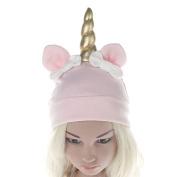 Bluelans Baby Boys Girls Knitted Winter Beanie Warm Hat Unicorn Bowknot Cap Gift