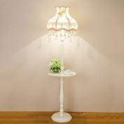 MMM European Style Floor Lamp Fashion Simple Living Room Study Modern American Style Bedroom Bedside Retro Vertical Lighting