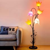 MMM Eye Protection LED Floor Lamp Tea Light Living Room Bedroom Bedside Nordic Simple Modern Put Things Vertical Lighting
