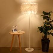 MMM Feather Floor Lamp Bedside Simple Modern Living Room Bedroom Vertical Table Light
