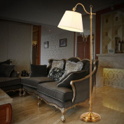 MMM American Style Floor Lamp Living Room Simple Modern Study Bedroom Retro Light