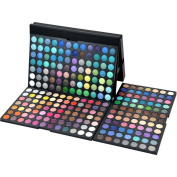 Gracelaza 252 Colours Mix Matte and Shimmer Eyeshadow Make up Palette - Ideal Eye shadow Makeup Cosmetic