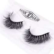 Kamoku101 3D Artificial Hair False Eyelashes Natural Thick Eye Lashes Makeup Extensiat