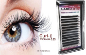 Labeaute Faux Mink Individual Eyelash Extensions Mix Length Trays C - curl / 0.25mm