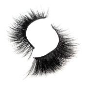 Women Beauty Fibre Handmade Eyelashes Natural Long Cross Black Fake Eye Lashes MML