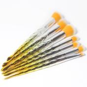 Mermaid Makeup Brush Suit Yellow Tools SOEMSUN Foundation Makeup Brush