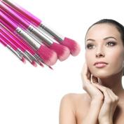 Gradient Pink Makeup Brush Suit SOMESUN 7 Pcs Tools Foundation Makeup Brush