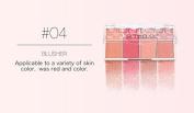 ThinkMax Blush Palette Womens Long-lasting Cosmetics Bronzer Powder Natural Makeup Beauty Tools 4 Colours