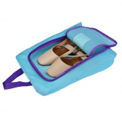 Fanxing New Fashion Portable Travel shoe bag Zip view window Pouch Storage waterproof Organiser