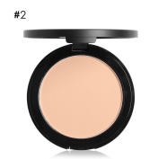 Powder Compact with Mirror Fresh Makeup Oil Control Silk Pressed Fine Powder by UmayBeauty