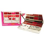 Clinique Pretty Easy Lip Palette 8 Colours Brush Spatula Mirrored Compact  New In Box