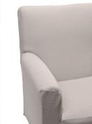 Happidea f3111101411010000 M705 Armchair, poliestere-cotone, Pearl, 38 x 19 x 31.5 cm