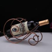 Creative home wine racks ornaments European wine display racks