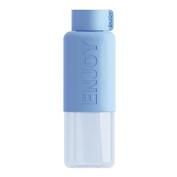 Sports Water Bottle-Auykoop Candy Colour Plastic Water Bottle English Paragraph Bicycle Bottle Portable Drink Bottle,Colour Random