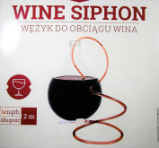 Syphon with Clamp for Wine and Beer - Wine Syphon - Worldwide Shipping