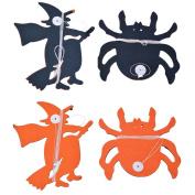 Souarts Christmas Handmade Hand Made Witch Labels for Xmas Festive Assortment